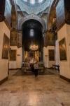 In der Hauptkathedrale der armenischen Kirche