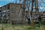 Das Riesenrad in seiner Umgebung