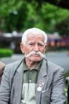 Alter Armenier, ein Veteran des Krieges mit den Türken.
