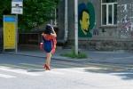 Und immer wieder schöne Motive... z.B. ein Graffiti
