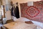 so auch in die Wohnstube eines 87 jährigen ehemaligen Ringers (armenischer und ukrainischer Meister)...