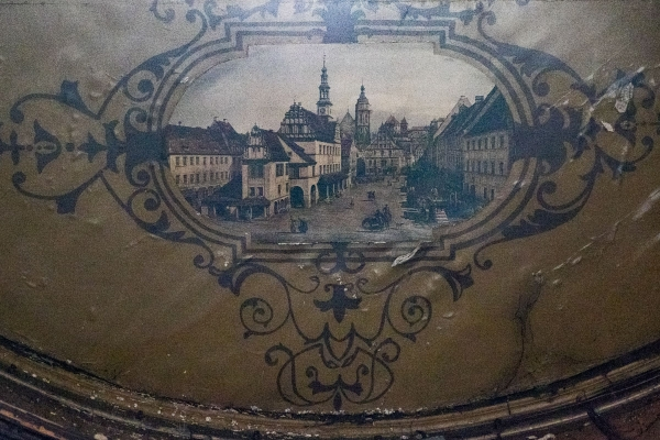 Altes Deckengemälde, welche Stadt das wohl ist?