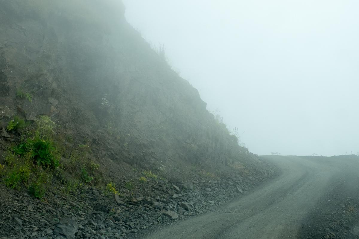kein Nebel, einfach Wolken
