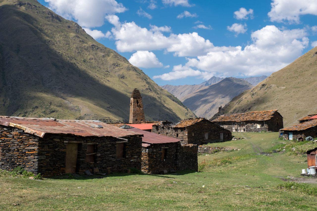 Das Dorf Parsma