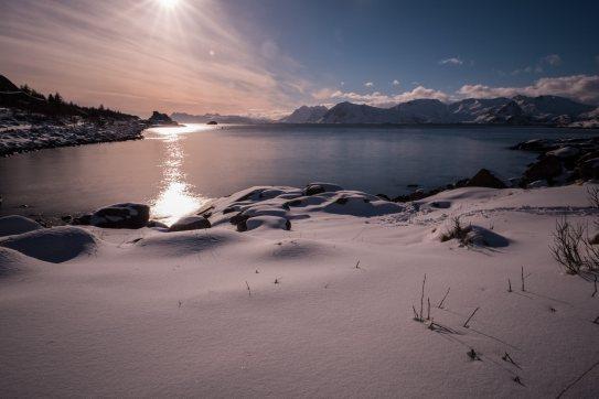 Nachmittagslicht in Rørvika