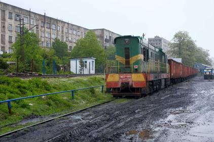 Wiedersehen mit der Lokomotive