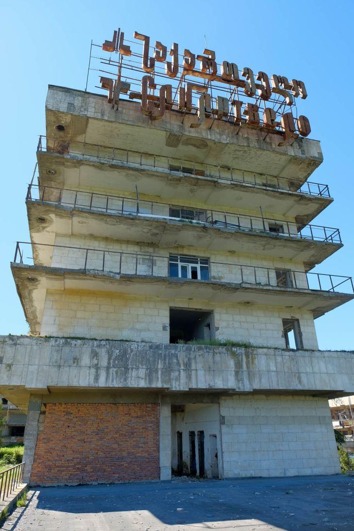 Ein Sanatorium...