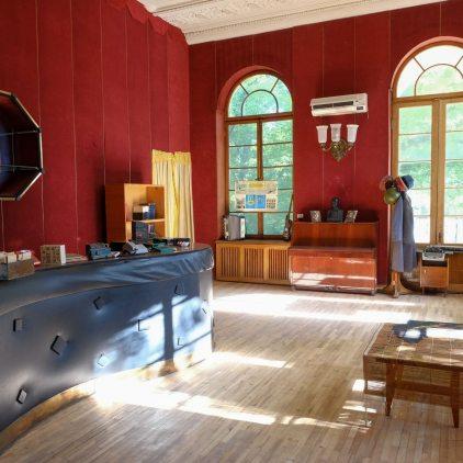 Stalins Arbeitszimmer, wenn er hier kurte...