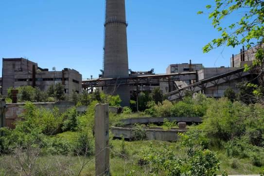ein Teil der Metallurgie... möglicherweise nicht mehr in Betrieb