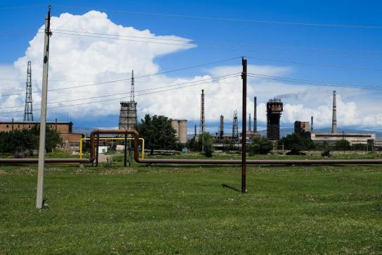 eine Chemiefabrik... sicher noch in Betrieb