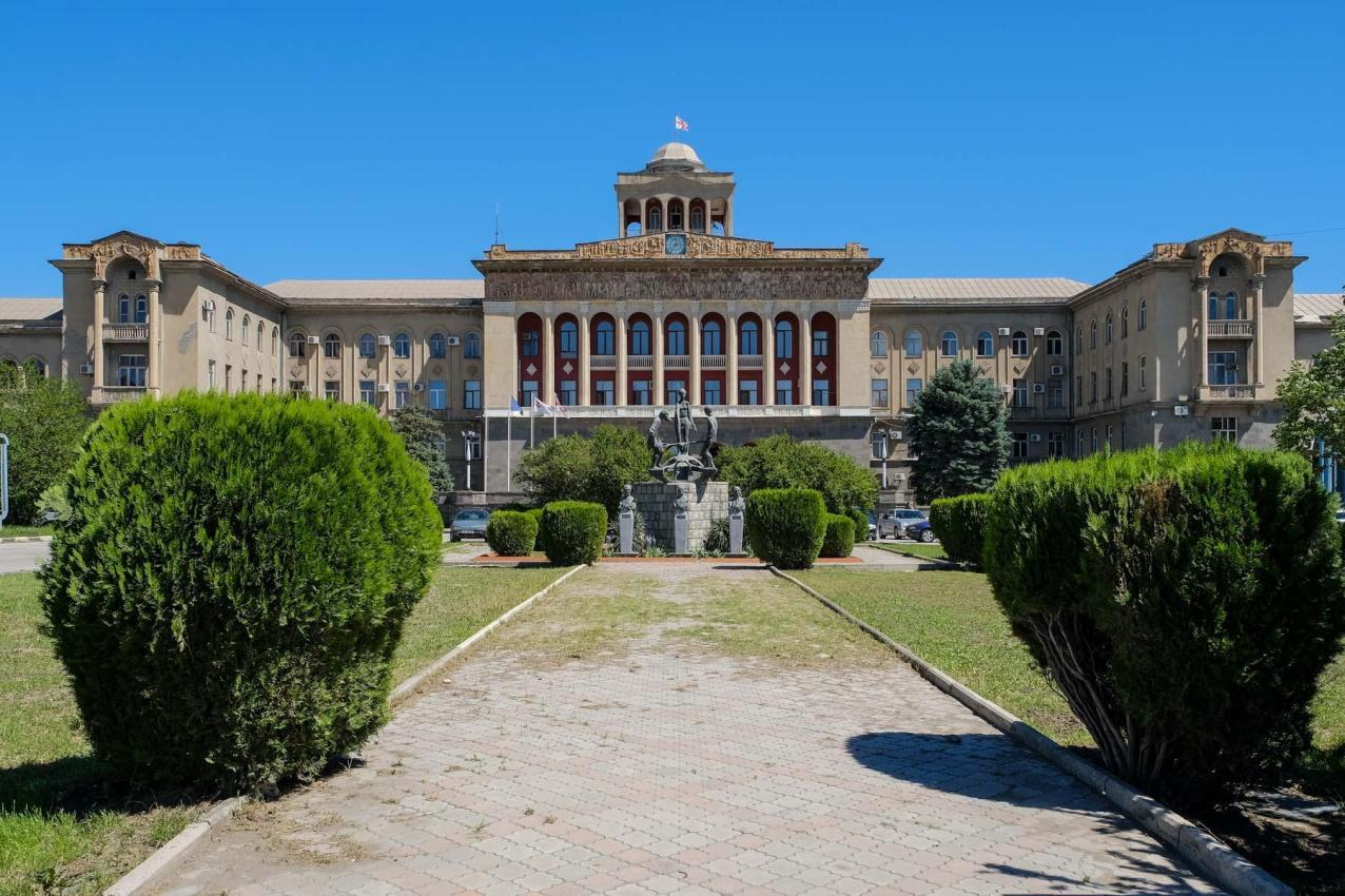 Das mondäne Verwaltungsgebäude der Metallurgie