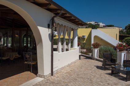 Unser schönes Hotel Borgo Eolie