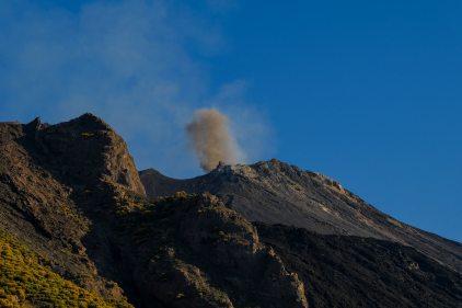 Wieder eine Eruption...