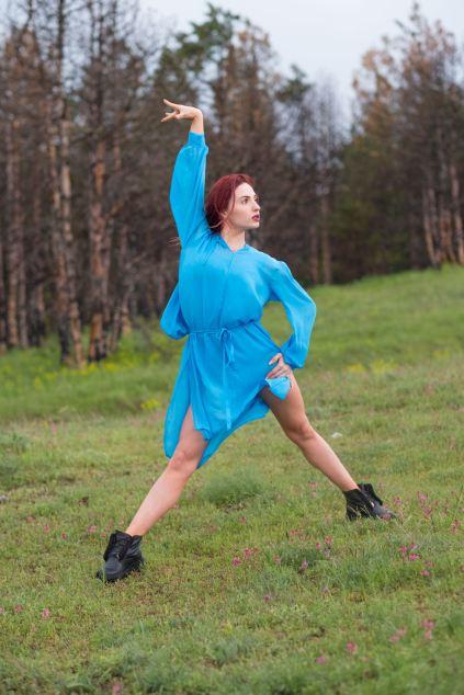 perfektes Posing bei 12 Grad und leichtem Regen