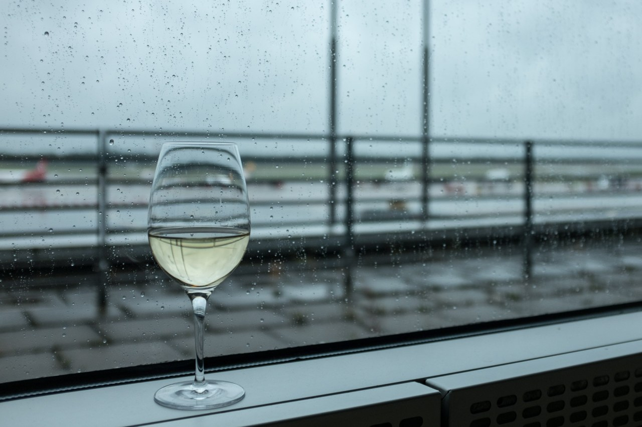 Das trübe Hamburg Wetter bei der Abreise etwas aufhellen