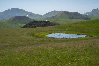 Der erste Kratersee