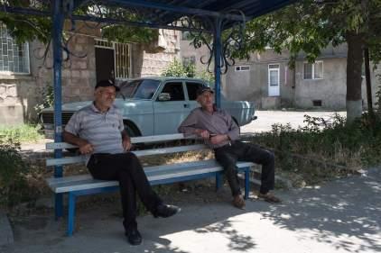 Ältere Herren in Sissian