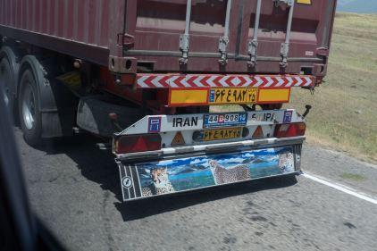von Teheran nach ???