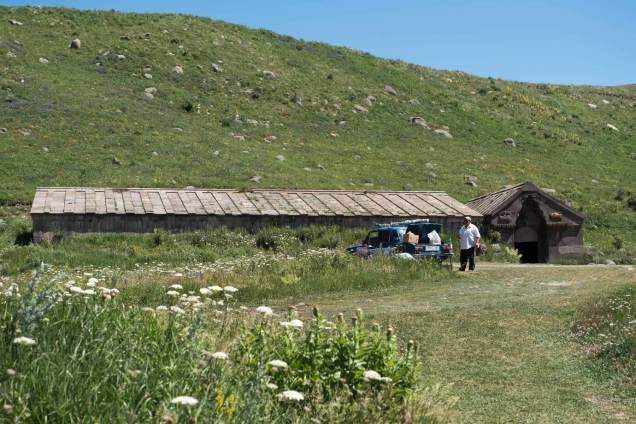 und hier die Bergstation der Karavanserei
