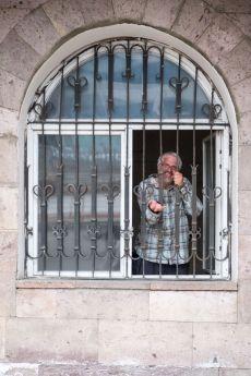 Unser fotografischer Leiter im Außenministerium - er ist aber wieder frei gekommen