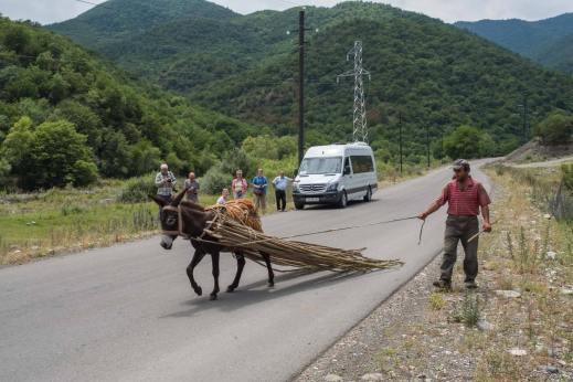 Eigentlich nur ein Foto mit Esel...