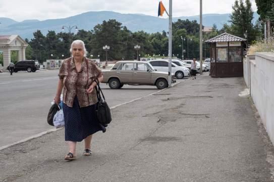 Stepanakerterin auf Tour