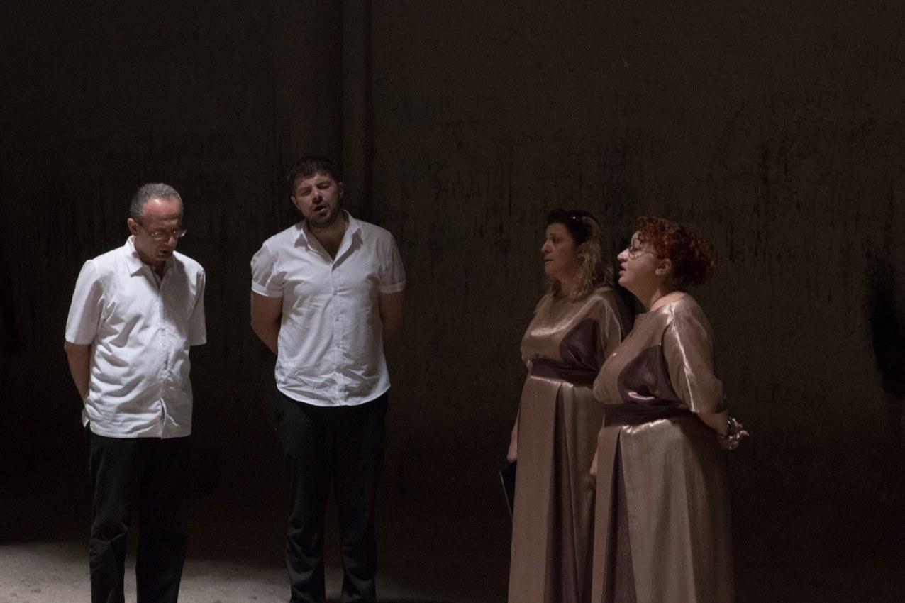 Gänsehautgesang vom Garni-Ensemble