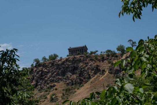 der alte heidnische Tempel