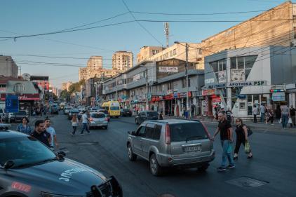 Rushhour in Gldani