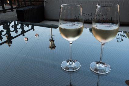 leckerer Wein überall