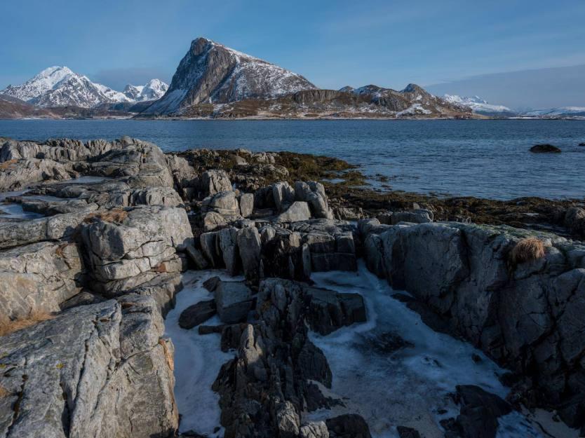 Lofoten - Blick auf Gimsøy