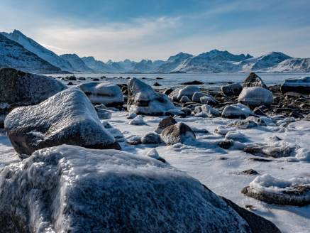 Eisvergnügen bei Flakstad