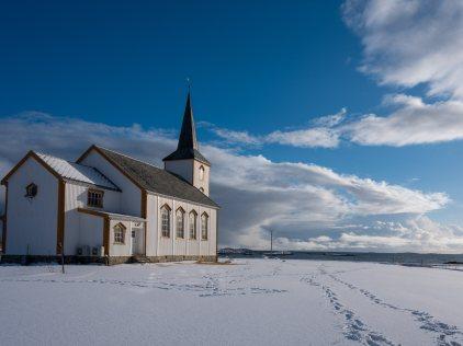 Valberg, wieder eine Kirche am Meer