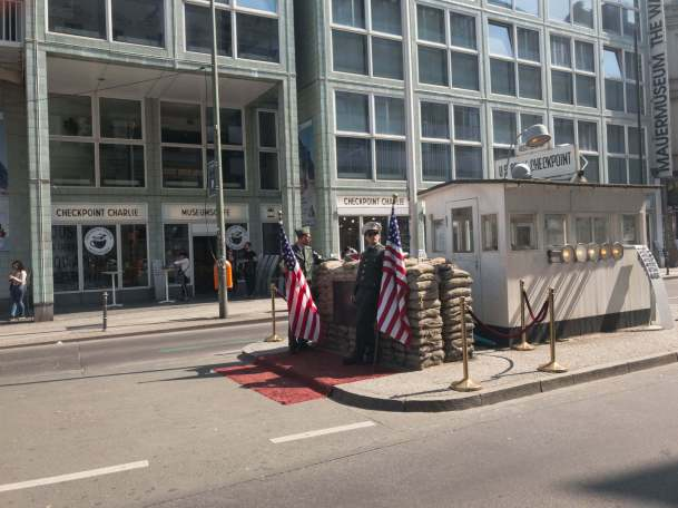 Checkpoint Charlie - a little bit of Hollywood
