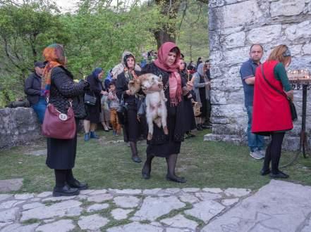 Martvili Erzengel-Kirche von Tsachkhurus