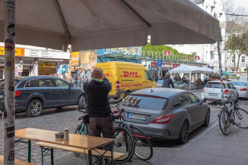Streetlife auf der Schanze