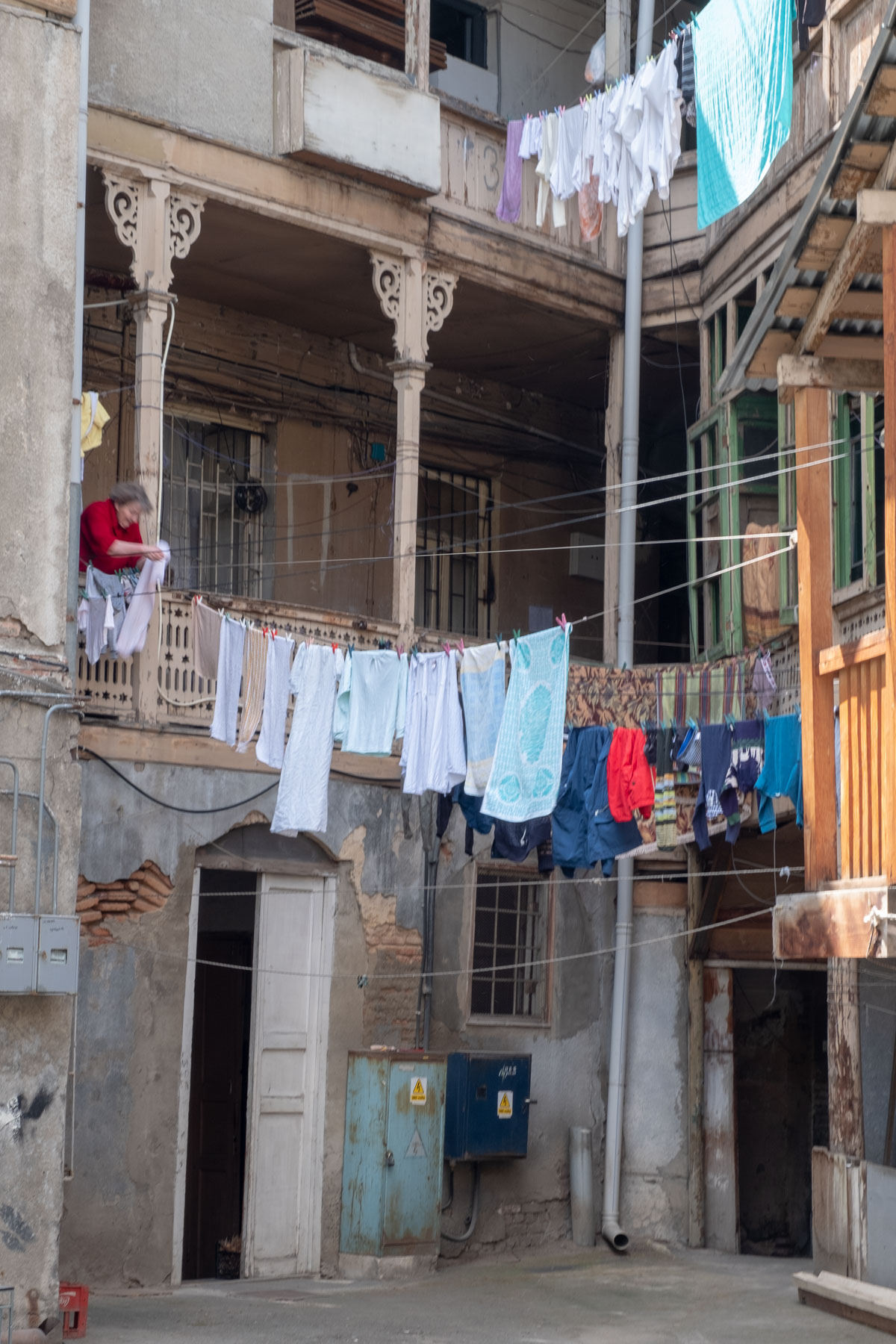 Platz für Wäsche ist immer