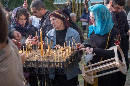 Kerzen und immer wieder Kerzen