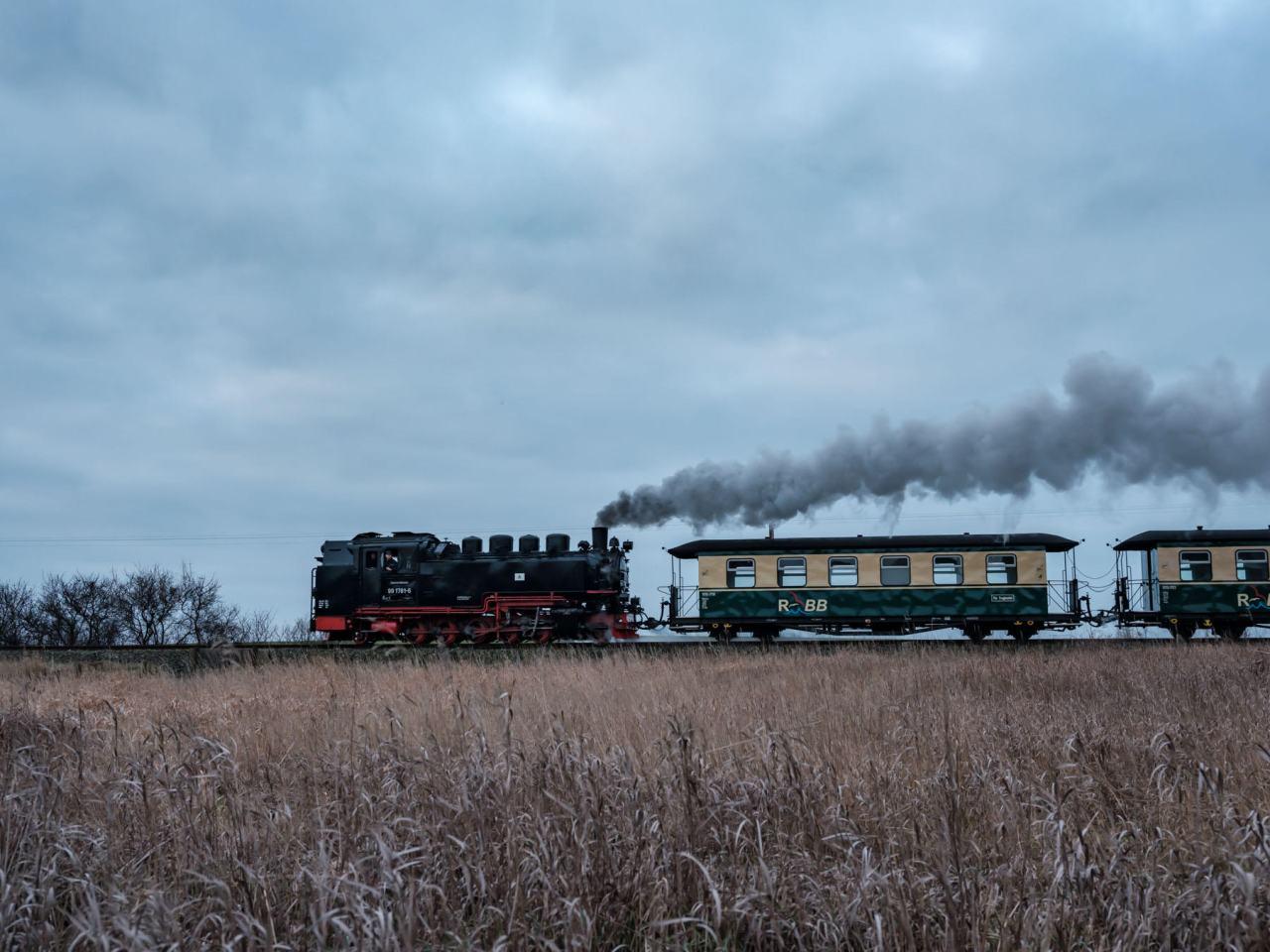 8:08 Uhr ab Putbus… Ein Wochenende aufRügen