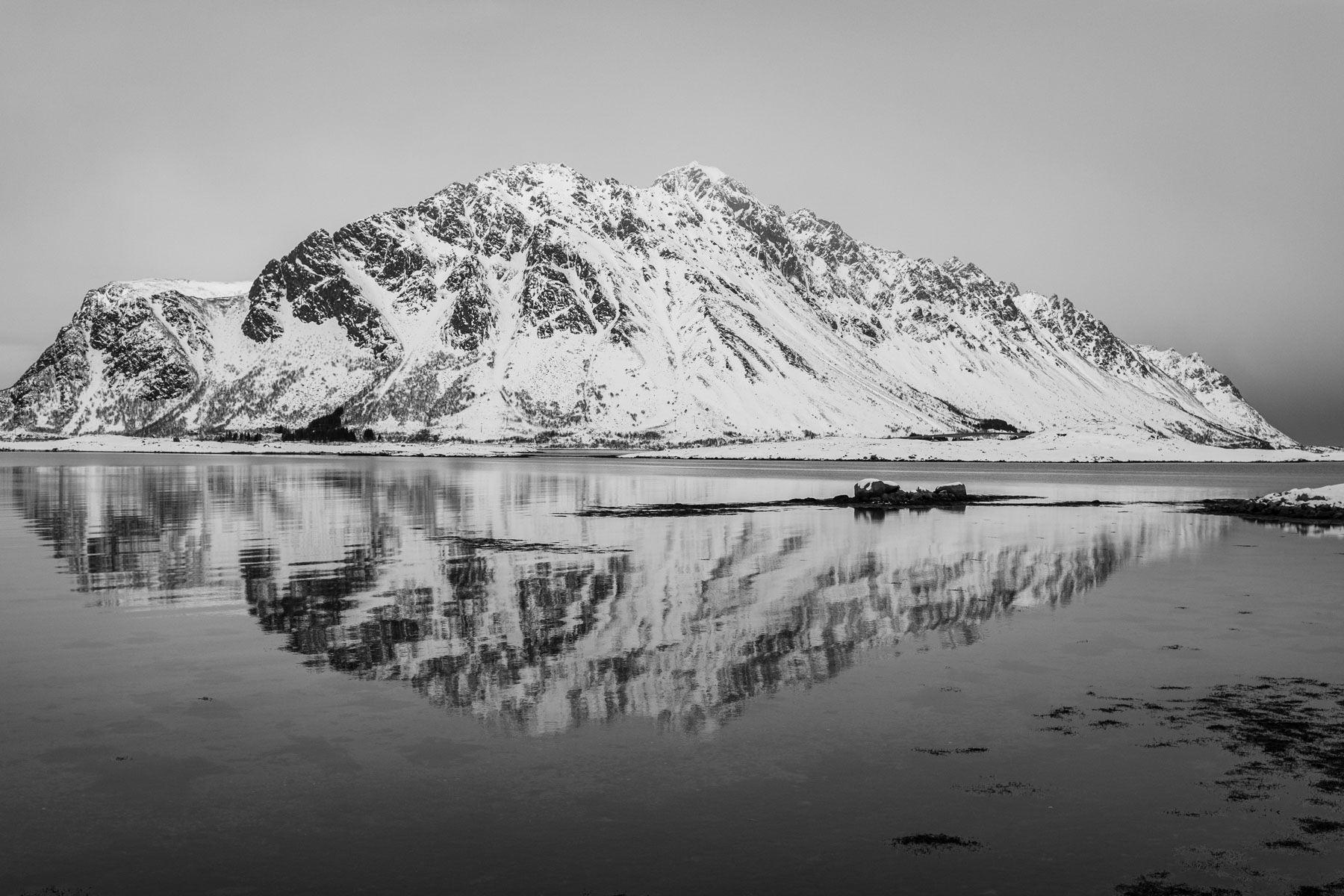 Blick auf Gimsøy